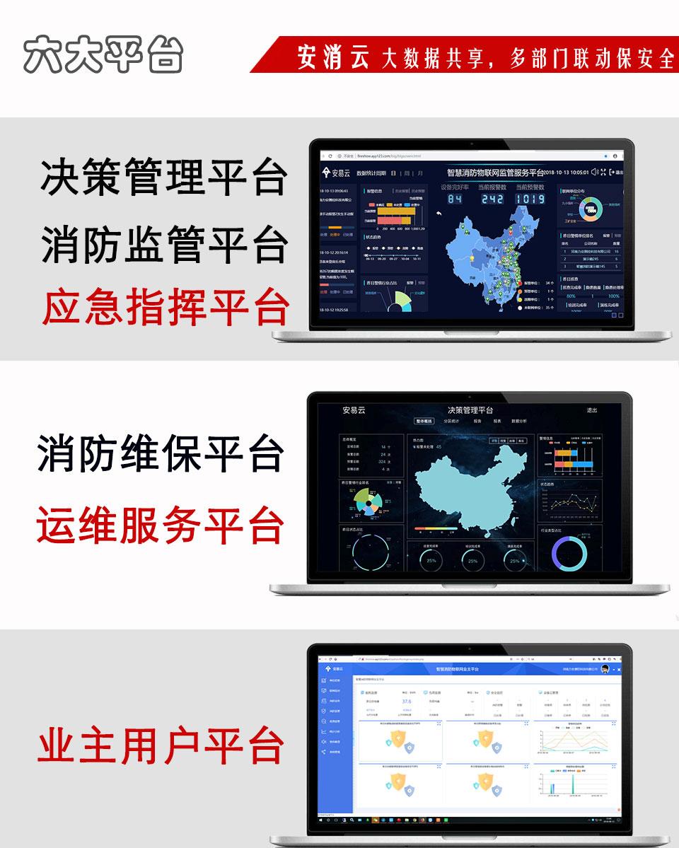 智慧消防物联网云平台展示
