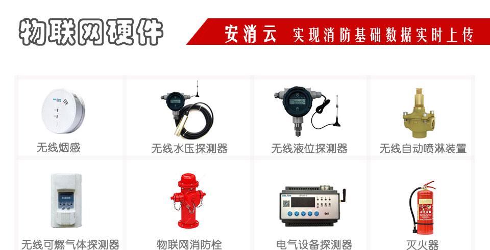 徐州智慧消防物联网部分硬件产品展示